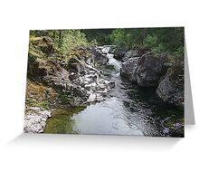 Koksilah River  Greeting Card