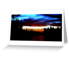 The American River near Coloma Greeting Card