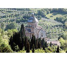 Chiesa di San Biagio-Montepulciano, Italy Photographic Print