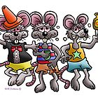 THREE BLIND MICE by NHR CARTOONS .