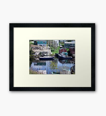 Herring Cove Framed Print