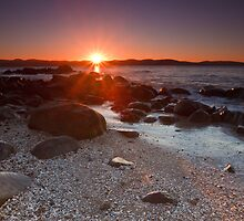 Dixons Beach Sunrise, Taroona,Tasmania #7 by Chris Cobern