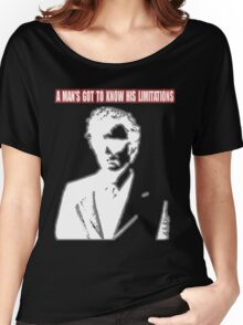 Dirty Harry - A Man's Got To Know His Limitations Women's Relaxed Fit T-Shirt