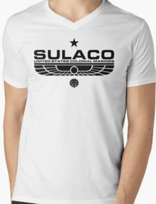 Sulaco Mens V-Neck T-Shirt