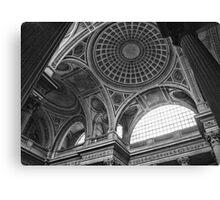 Pantheon ceiling-Paris, France Canvas Print