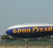 Goodyear Blimp.... by EvaMarie Cannon