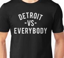 Detroit VS Everybody | White Unisex T-Shirt