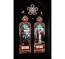 The risen Christ-St. Luke's Cathedral-Orlando, Florida Photographic Print