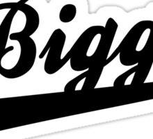 Biggie Script Sticker