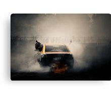 ROGUE Motorfest Burn Out Canvas Print