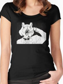 Bunny Cannibalism Women's Fitted Scoop T-Shirt