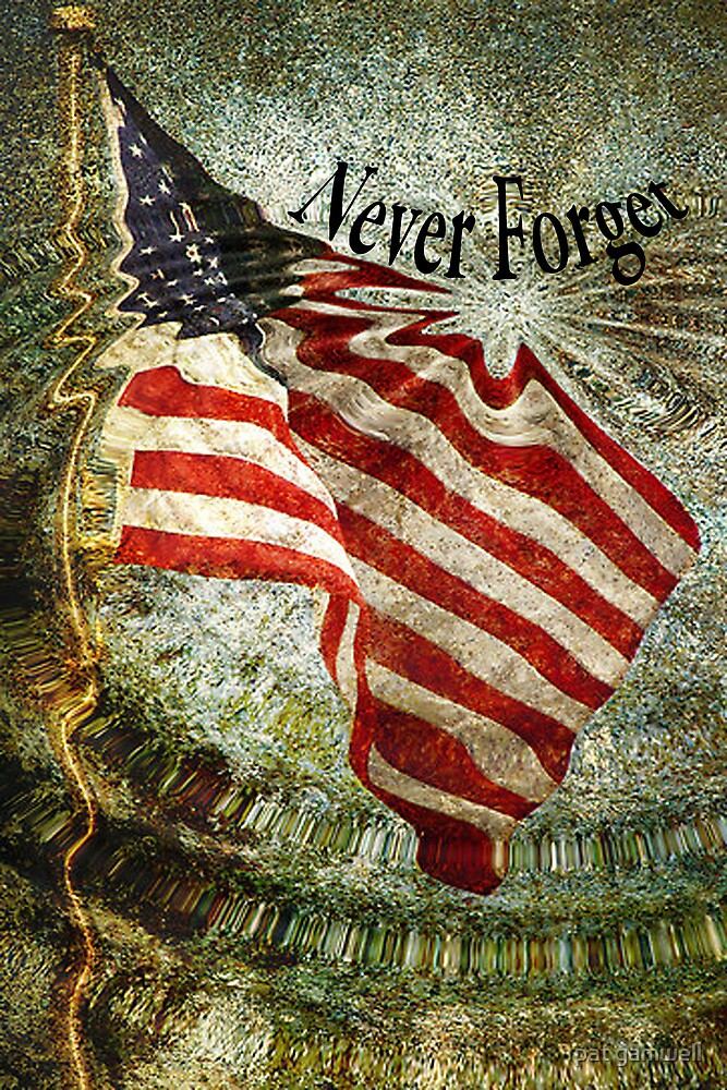 Never Forget by pat gamwell