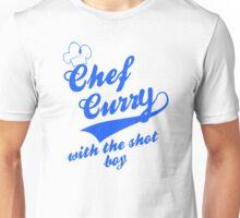 Chef Curry Script w/Hat Unisex T-Shirt