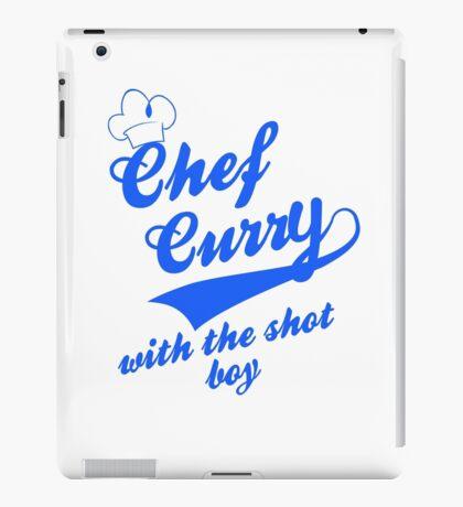 Chef Curry Script w/Hat iPad Case/Skin