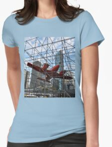 Art & About, Sydney, Australia 2012 - Trapped Aircraft Womens Fitted T-Shirt