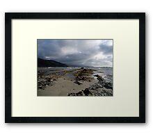 Blanket Bay ,Ottways NP,  VIC Framed Print
