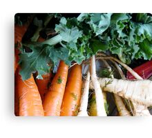 Winter Vegetables Canvas Print