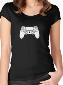 PS4 Women's Fitted Scoop T-Shirt