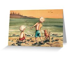 Skipping Stones Greeting Card