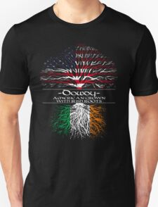 Dowdy - American Grown with Irish Roots Unisex T-Shirt