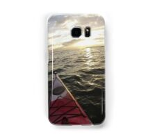 Sea Kayaking into the Sunset Samsung Galaxy Case/Skin