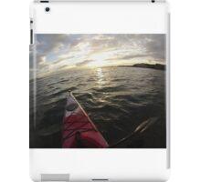 Sea Kayaking into the Sunset iPad Case/Skin