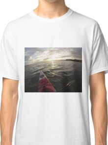 Sea Kayaking into the Sunset Classic T-Shirt