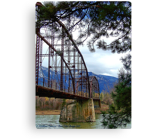 The Old Steel Bridge Canvas Print