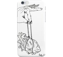 Tug on my Heart Strings iPhone Case/Skin