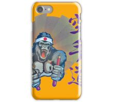 Karate Kong iPhone Case/Skin