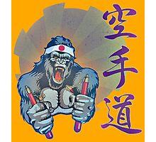 Karate Kong Photographic Print