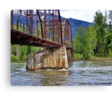 Flood Watch Canvas Print