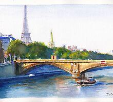 Seine Péniche by Dai Wynn