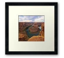 Nice Image of Horseshoe Bend Framed Print