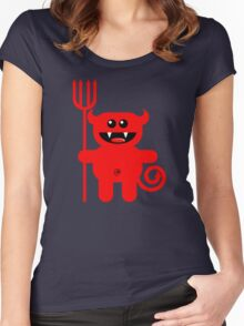 DEMON Women's Fitted Scoop T-Shirt