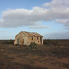 White Wells Station Nullarbor by Paul Birch