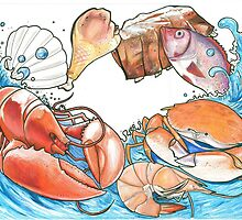 Mama Nem's Seafood design by Aestheticz .