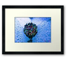 """ Raging Blues"" Framed Print"