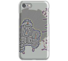 Aged Kung Fu Kong iPhone Case/Skin