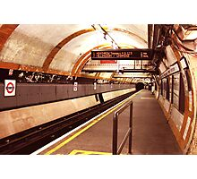 Covent Garden Underground Station Photographic Print