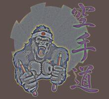 Aged Kung Fu Kong Baby Tee