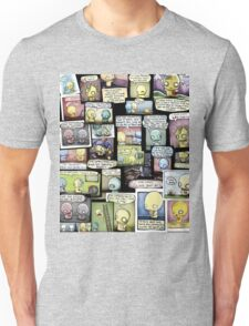 Pon and Zi Collage Unisex T-Shirt