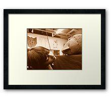 Examination Framed Print