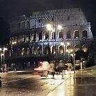 Roman Coliseum at Night by Judson Joyce