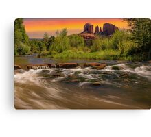 Cathedral Rock in Sedona, Arizona Canvas Print