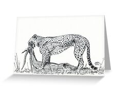 A Tear for Survival Greeting Card