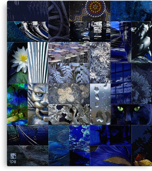 Patchwork of Blues by Penny Alexander