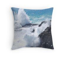 Blowholes, Cape Bridgewater, Vic Throw Pillow