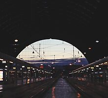 Milan train station by lunaperriART