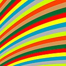 Colored stripes by Laschon Robert Paul
